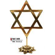Estrela de Davi - Bronze Polido