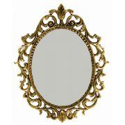 Moldura Barroca para Espelho - Bronze Maciço - Ref: E-02
