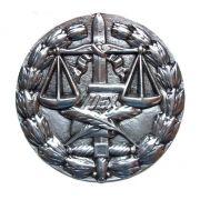 Medalhão da Justiça - Aluminio Polido