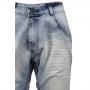 Bermuda Jeans Claro Manchado BIG