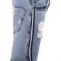 Bermuda Jeans Faixa Lateral
