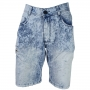 Bermuda Jeans Lavagem Clara Rasgado BIG