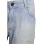 Bermuda Jeans Lavagem Rasgados/ Bainha