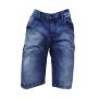 Bermuda Jeans Pinado C/ Puidos