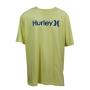Camiseta Hurley Silk O&O Solid Neon BIG
