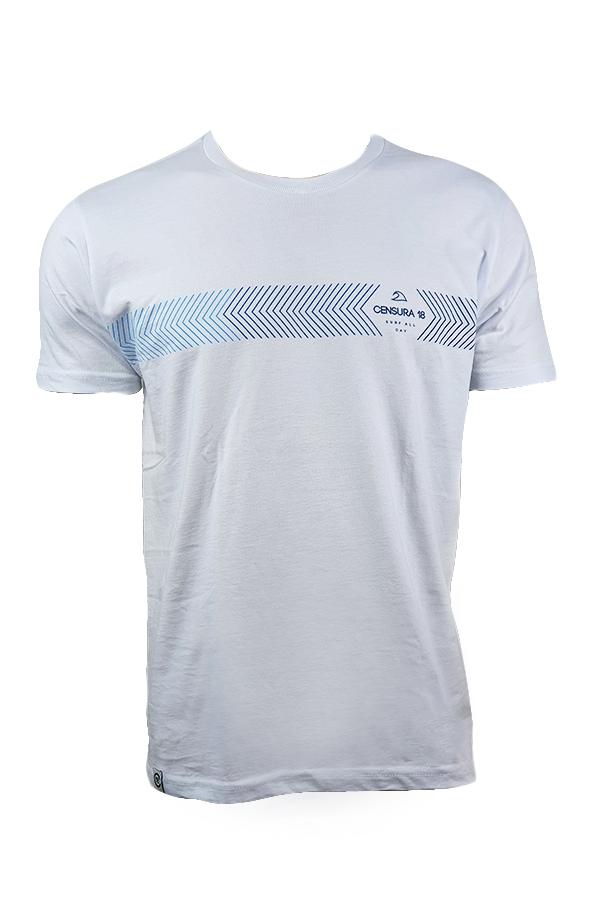 Camiseta Censura 18 Barrado  Right Left