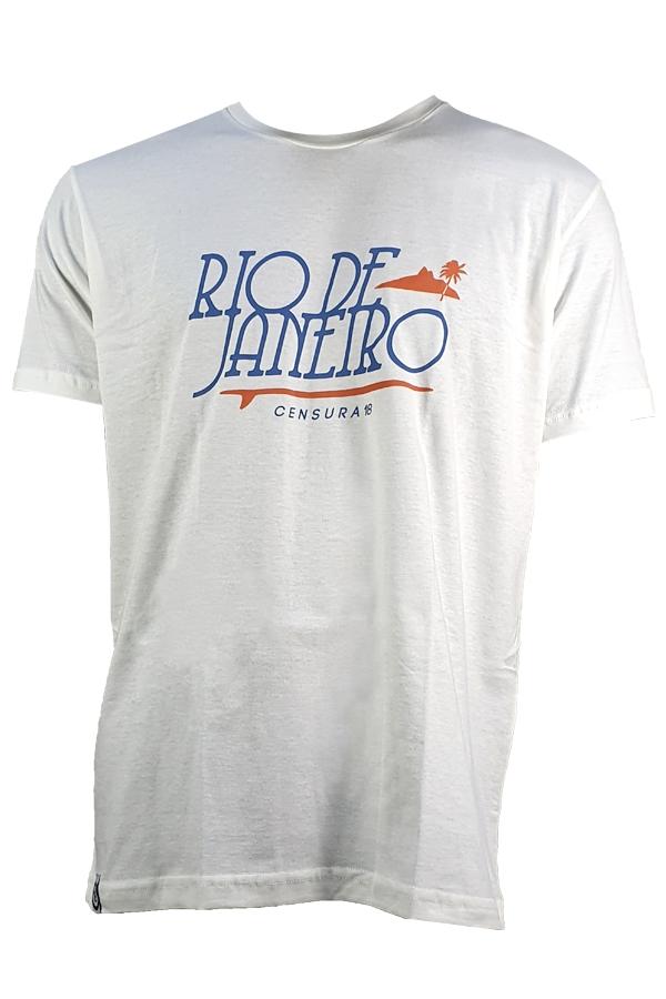 Camiseta Censura 18 Rj Letter