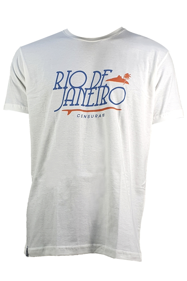 Camiseta Censura 18 Rj Letter BIG