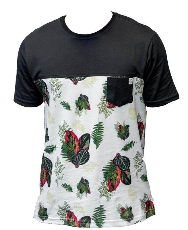 Camiseta Especial Rec. B.  Folhas