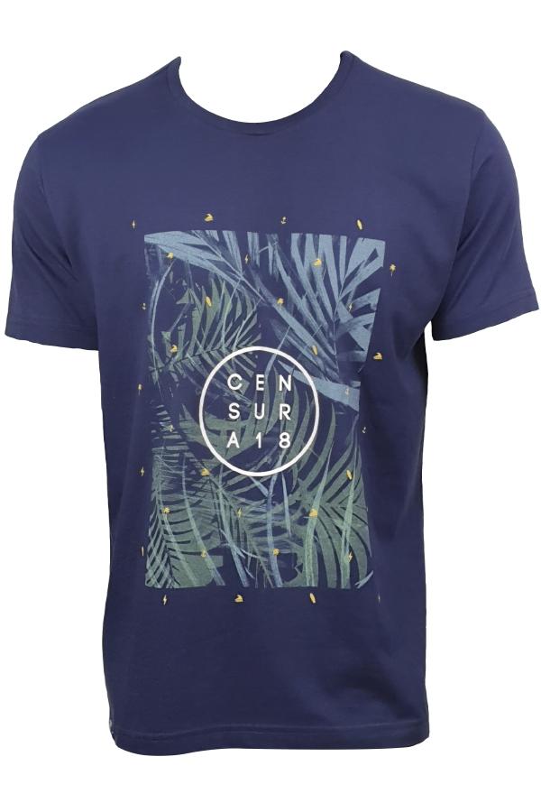 Camiseta Floral Elementos