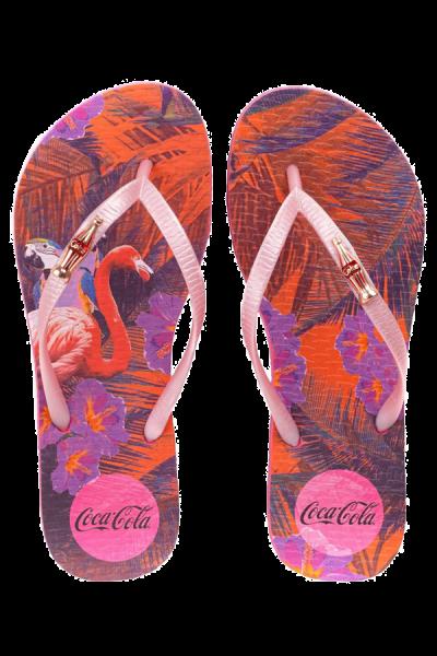 Chinelo  Coca-Cola Tropical Summer