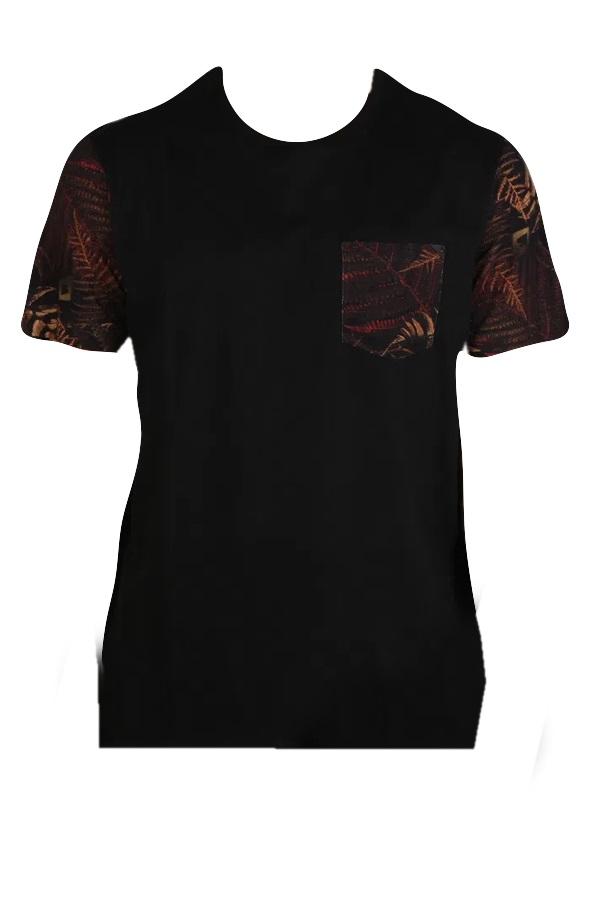 T-shirt Especial  Pocket Dark Fern