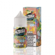 Líquido Bazooka! Salt - Sour Straws - Rainbow ice