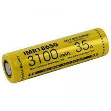 Bateria 18650 IMR 35A 3100 mAh - NITECORE