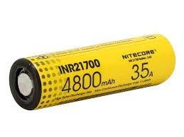Bateria INR 21700 4800mAh 35A - Nitecore