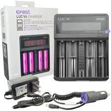 Carregador de bateria LUC V4 - Efest