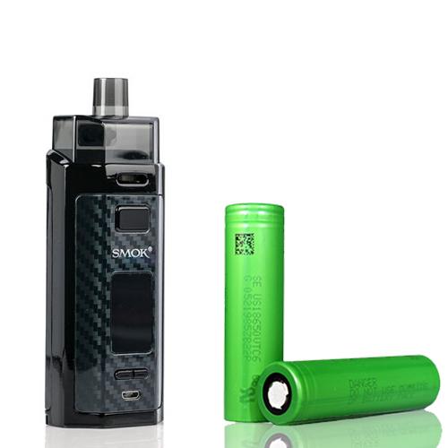 Combo Kit Pod RPM 160 Com 2 Baterias 18650 - Smok