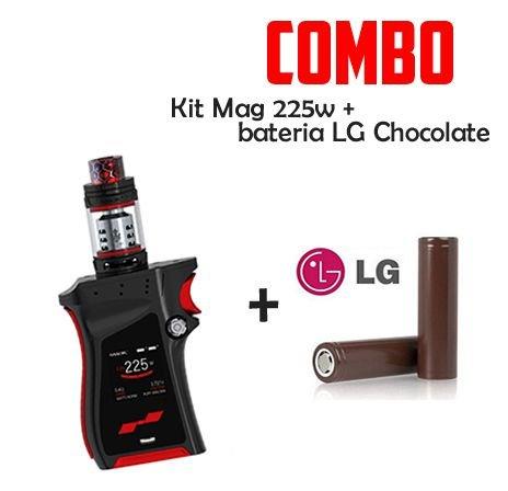 Combo Vape- 1 KIT MAG Com 2 Baterias 18650