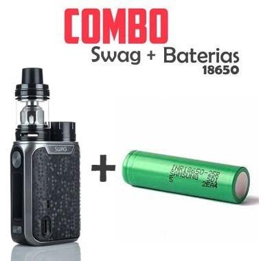 Combo Vape - 1 Kit Swag 80W Com 1 bateria 18650