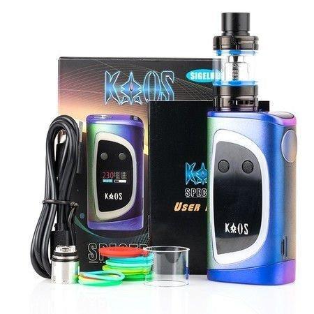 KIT Vape KAOS SPECTRUM com 2 baterias 35A SIGELEI inclusas - SIGELEI