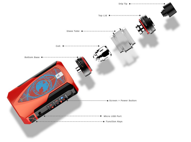 Kit Vape Tarot Baby c/ tanque NRG SE - Vaporesso