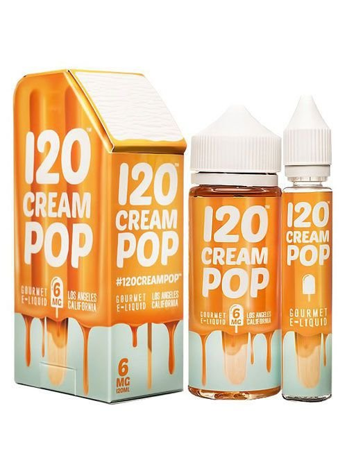 Líquido 120 Pop - Cream