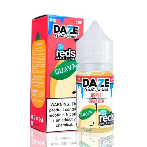 Líquido 7 Daze Reds Apple E-juice Salt - Apple Guava Iced