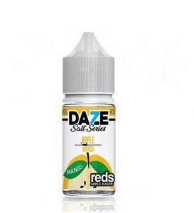 Líquido 7 Daze Reds Apple E-juice Salt  - Apple Mango Iced