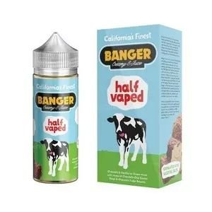 Líquido Banger Creamy E-juice - Half Vaped