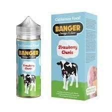 Líquido Banger Creamy E-juice - Strawberry Chunks