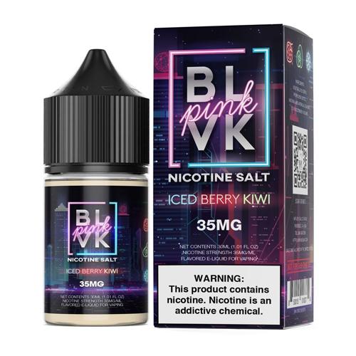 Líquido Blvk Unicorn Salt - Pink -Iced Berry Kiwi