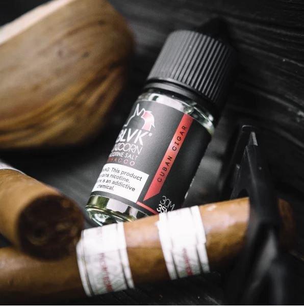 Líquido Blvk Unicorn Salt - Tobacco - Cuban Cigar