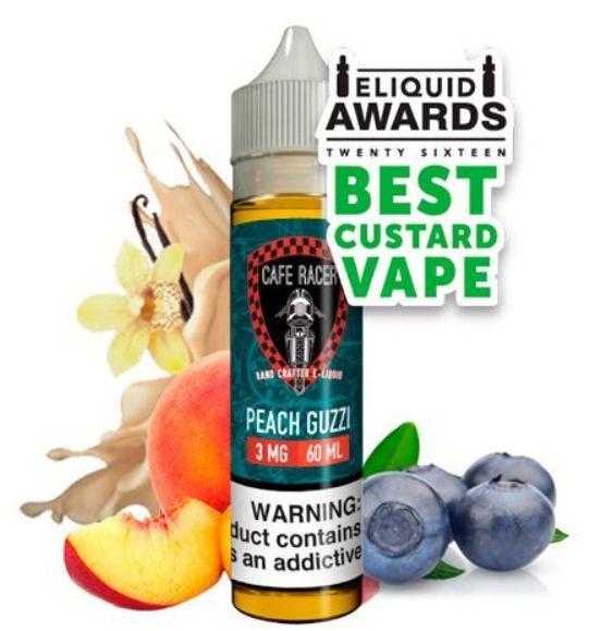 Liquido Cafe Racer Craft E-liquid - Peach Guzzi