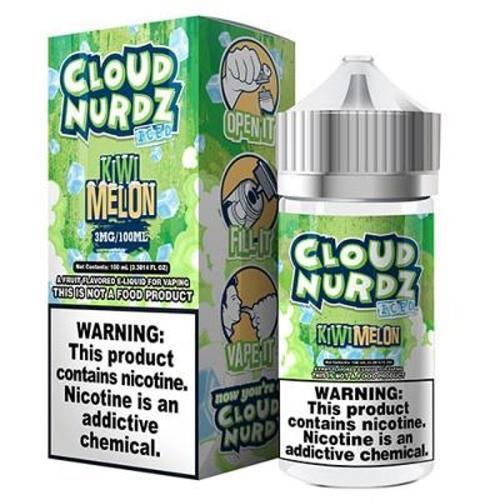 Líquido Cloud Nurdz - Kiwi Melon Iced