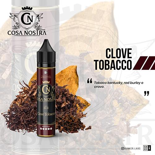 Líquido Cosa Nostra - Clove Tobacco