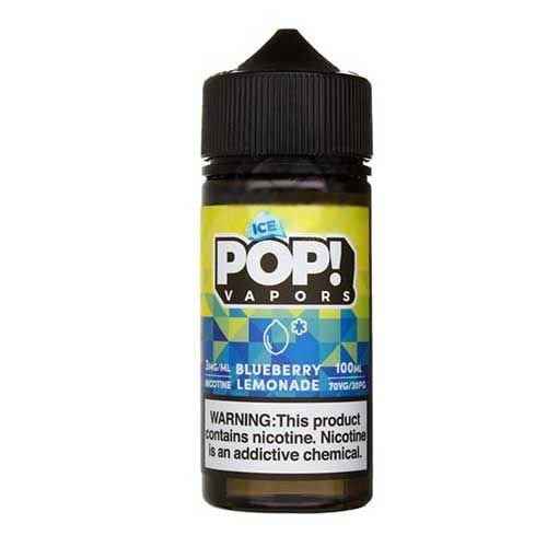 Líquido Fruit Vapors POP! - Iced Blueberry Lemonade