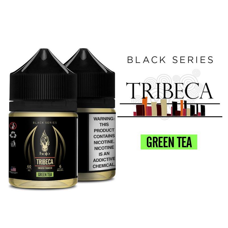 Líquido Halo - Black Series - Tribeca Green Tea (Smooth Tobacco)?