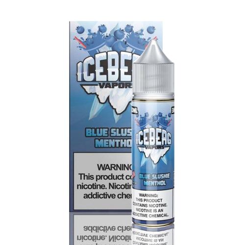 Líquido Iceberg Vapors -  Blue Slushie Menthol