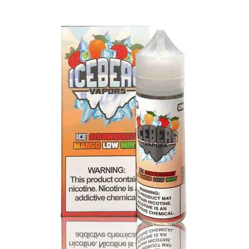 Líquido Iceberg Vapors -  Ice Strawberry Mango Low Mint