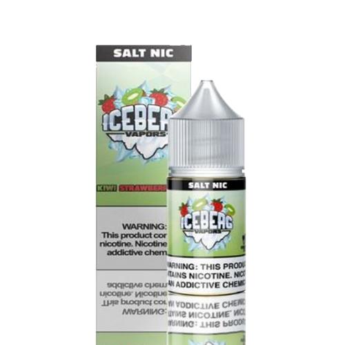 Líquido Iceberg Vapors Salt -  Ice Kiwi Strawberry