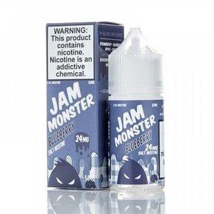 Líquido Jam Monster Salt - Blueberry