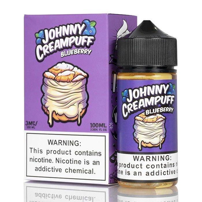 Liquido Johnny Creampuff - Blueberry