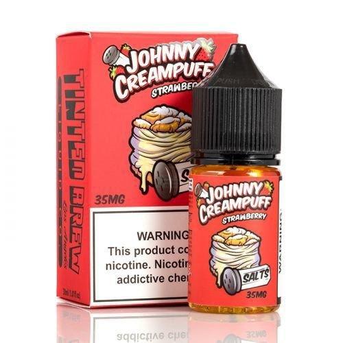 Líquido Johnny Creampuff Salt - Strawberry