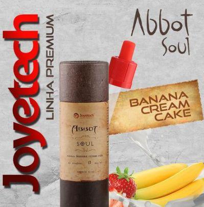 Líquido Joyetech - Abbot Soul - Banana Cream Cake