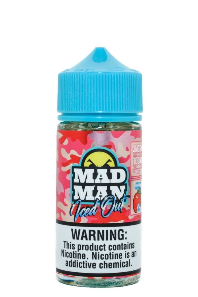 Liquido Mad Man - Crazy Iced Out - Strawberry