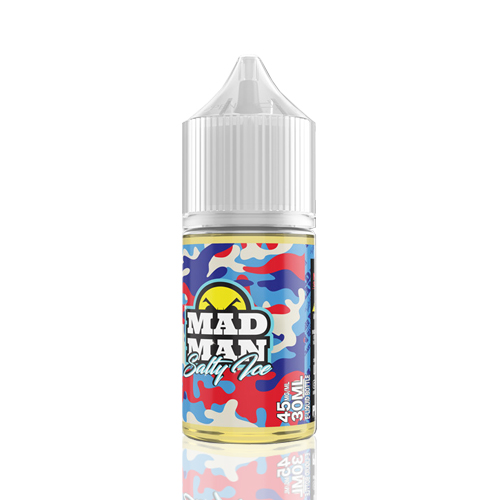 Liquido Mad Man Salt  - Ice - Raspberry