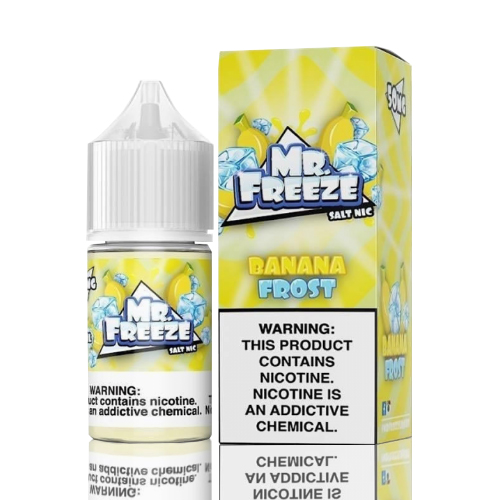 Líquido Mr. Freeze Salt - Banana Frost