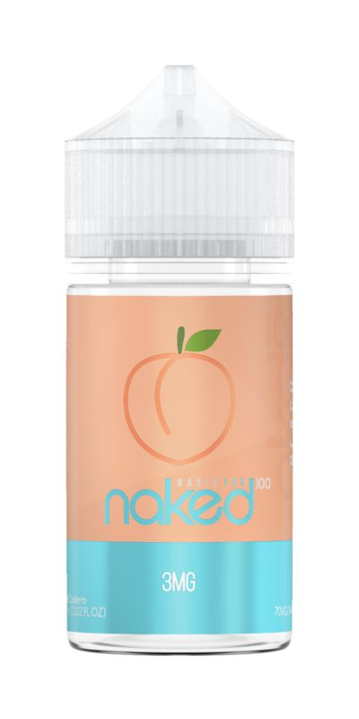 Líquido Naked 100 - Basic Ice - Peach