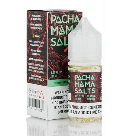 Líquido PachaMama Salt - Strawberry Watermelon