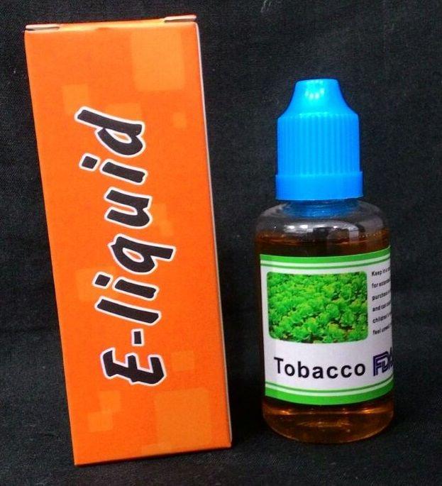 Liquido  para cigarro eletronico - E-Liquid - Tobacco (tabaco)
